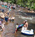 St. Vrain River at the Folks Festival (photo: Benko Photographics)