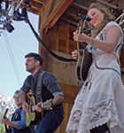 The Lone Bellow on the Telluride stage (photo: Benko Photographics)