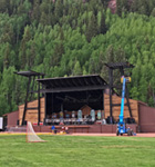 New Town Park stage