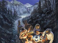 43rd Annual Telluride Bluegrass artwork (artist: Scott Knauer)