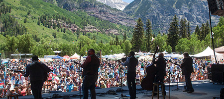 Telluride Bluegrass Festival (photo: Benko Photographics)