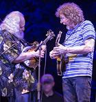 David Grisman & Sam Bush at 2015 RockyGrass (photo: Benko Photographics)
