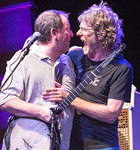 Scott Vestal and Sam Bush (photo: Shelly Swanger)