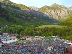 Telluride Bluegrass (photo: Brett Schreckengost)