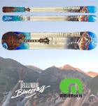 Telluride Bluegrass Festival skis by Meier