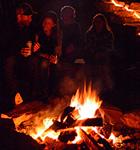 Wildflower bonfire