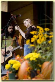 Beth Patterson and Tornaod at the Festival of the Mabon