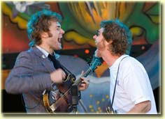 Chris Thile and Sam Bush