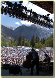 Edgar Meyer and Bela Fleck at Telluride Bluegrass