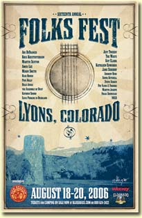 Folks Fest 2006 poster
