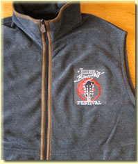Telluride Bluegrass fleece vest