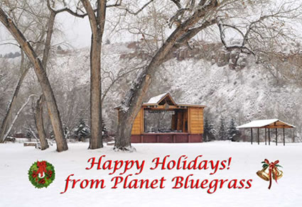 Happy Holidays from Planet Bluegrass