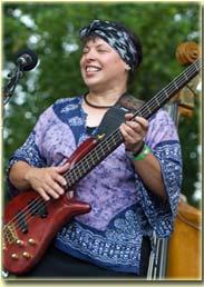 Laura Love at RockyGrass 2007