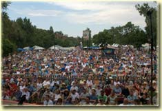 Planet Bluegrass audience