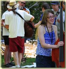 Academy bass student