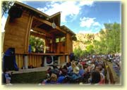 Planet Bluegrass stage