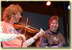 Sam Bush and Bela Fleck