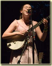 Sarah Jarosz plays Telluride Bluegrass 2007
