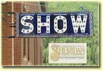 Sheridan Opera House sign