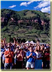 Telluride Bluegrass festivarians