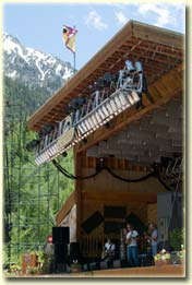 Town Park stage in Telluride