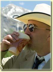 Vintage Telluride beer cups