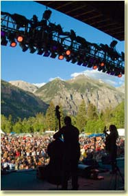 Ani DiFranco at Telluride Bluegrass (photo: Benko Photographics)