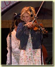 Alison Krauss at Telluride Bluegrass