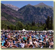 Telluride Bluegrass audience