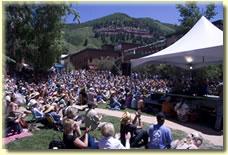 Elks Park stage