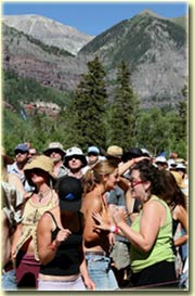 Festivarians at Telluride Bluegrass 2006