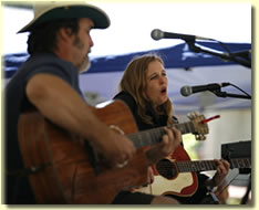 Darrell Scott and Tift Merritt at Elks Park
