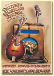 2006 Telluride Bluegrass Festival promotional poster
