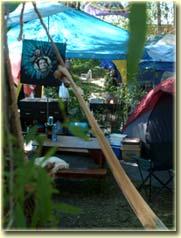 Town Park campsite