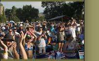 Festivarians at Planet Bluegrass
