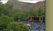 RockyGrass festival in Lyons, CO