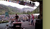Stephen Kellogg & the Sixers on the Telluride stage