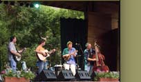 Sam Bush Bluegrass Band at RockyGrass