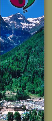 Telluride aerial view